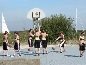 basketball   why use a team  when you can play it on your own